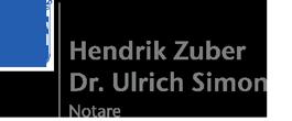 Notare Hendrik Zuber & Dr. Ulrich Simon – Bayreuth Logo